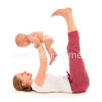 exercises for new moms to get back in shape